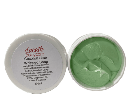 Coconut Lime Whipped Soap