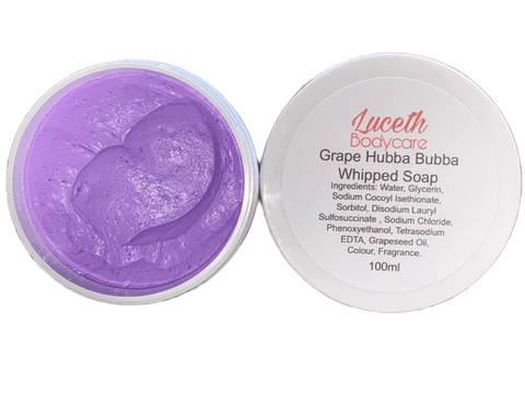 Grape Hubba Bubba Whipped Soap