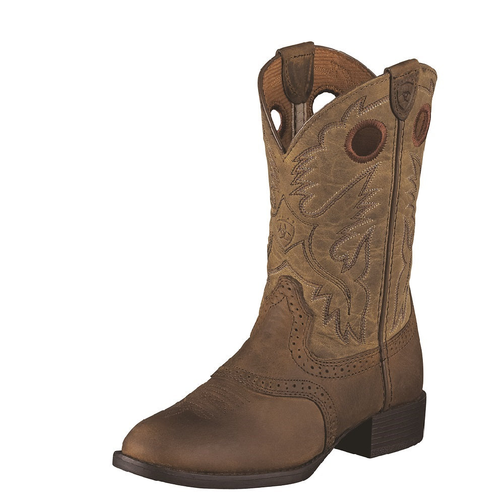 Ariat Childrens Heritage Stockman | Distressed Brown