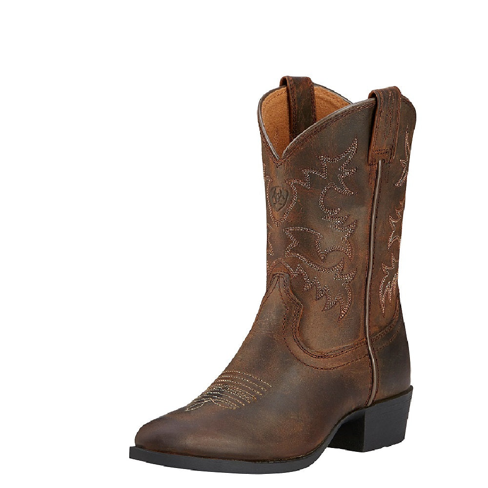 Ariat Childrens Heritage Western | Distressed Brown
