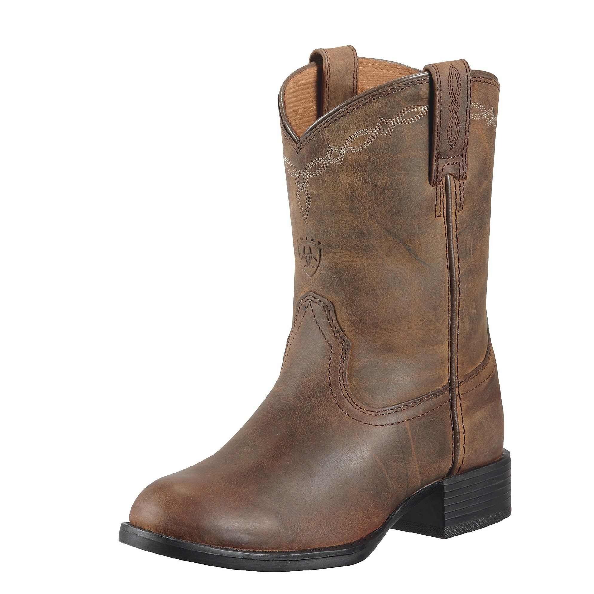 Ariat Childrens Heritage Roper | Distressed Brown