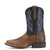 Ariat Childrens Western Boot Style Tombstone Colour Earth and Black