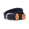 Ariat One Rail Woven Belt| Navy