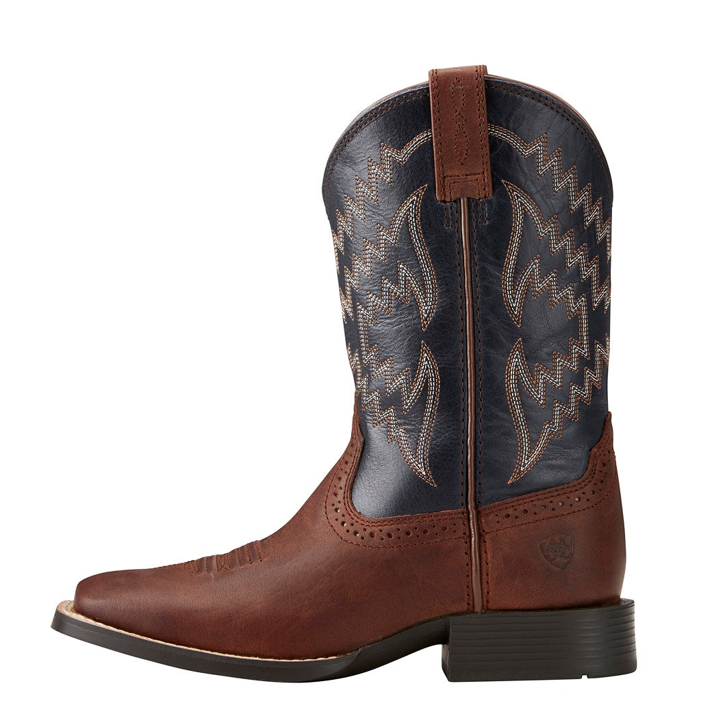 Ariat Childrens Tycoon | Brazen Brown / Arizona Sky