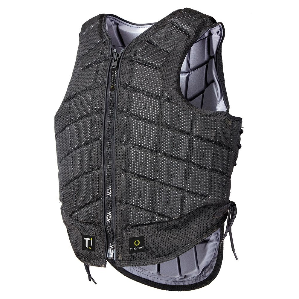 Champion Ti22 Adults Safety Vest | Black