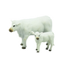 Big Country Toys | Charolais Cow & Calf