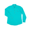 Just Country Womens Jahna Shirt | 1/2 Button | Turquoise