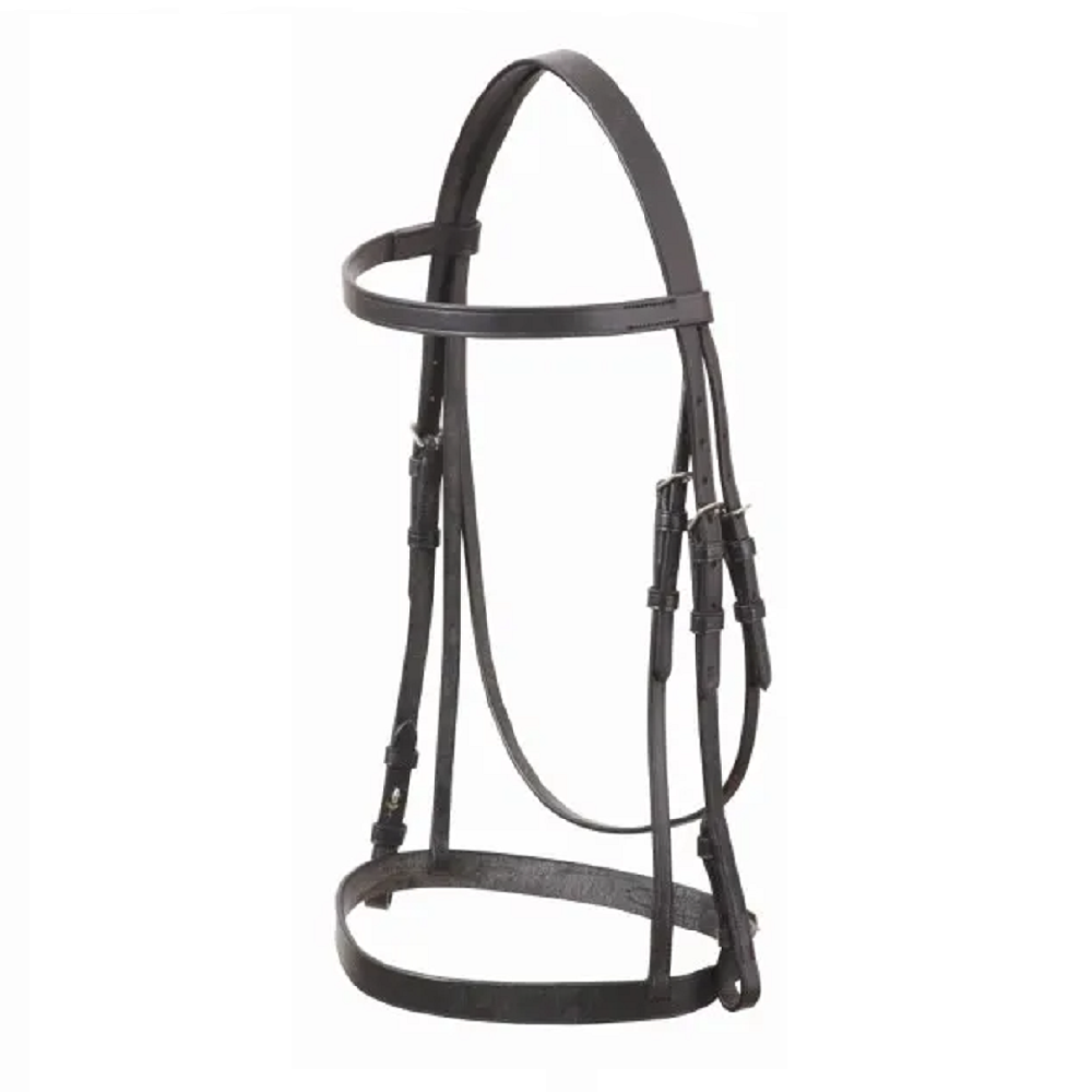 Academy Show Snaffle Bridle