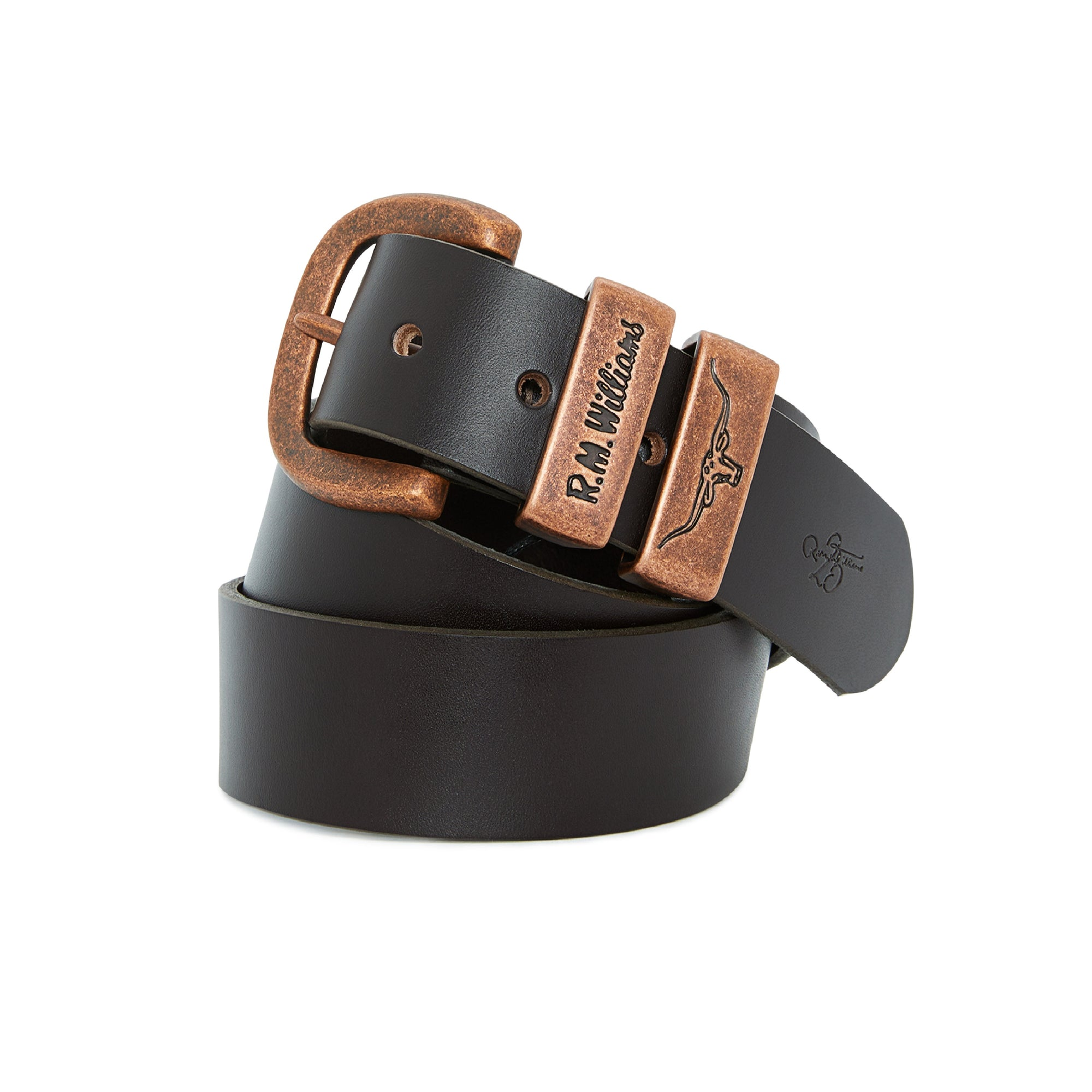 R.M. Williams Drover Anniversary Belt | Chestnut