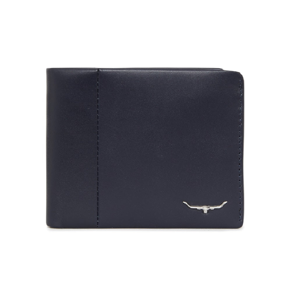R.M. Williams Classic Bi-Fold Wallet With Coin Pocket | Navy