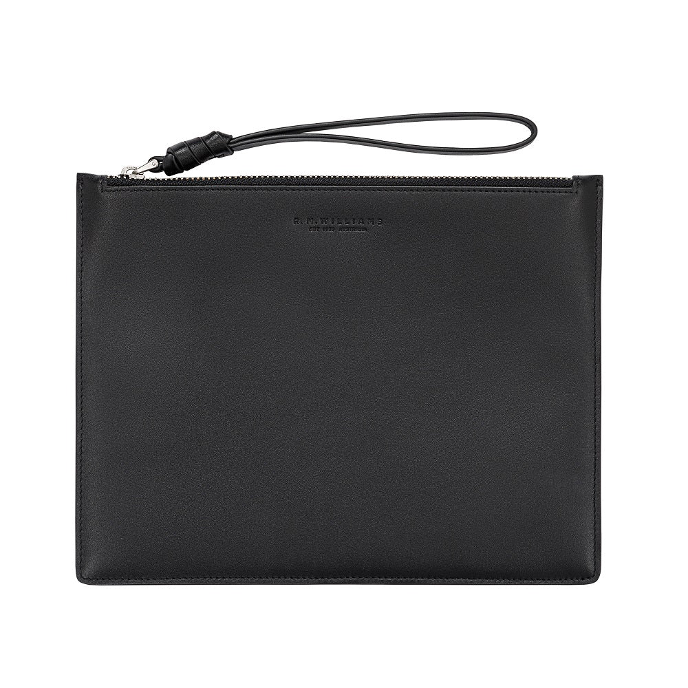 R.M. Williams Clutch Bag | Black