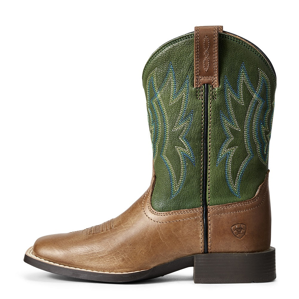 Ariat Childrens Pace Setter | Baked Cookie / Grass