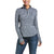 Ariat Womens Gridwork 1/4 Zip Long Sleeve Baselayer | Navy