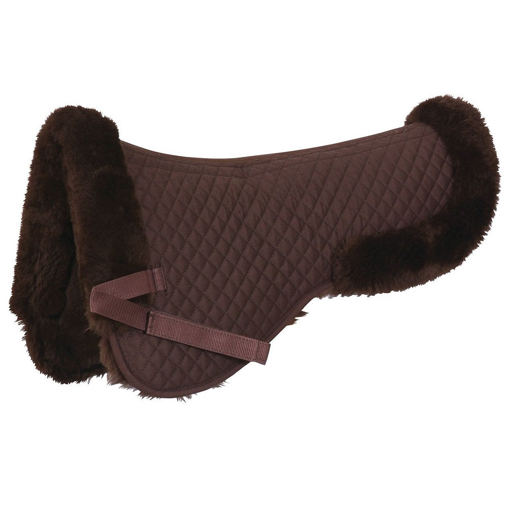Grainge Merino Half Pad | Brown