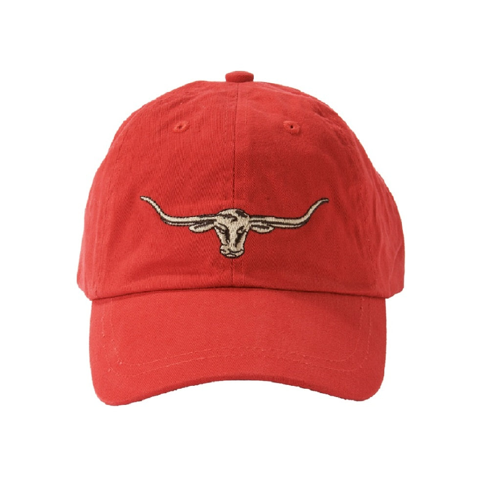 R.M. Williams Longhorn Logo Cap | Red