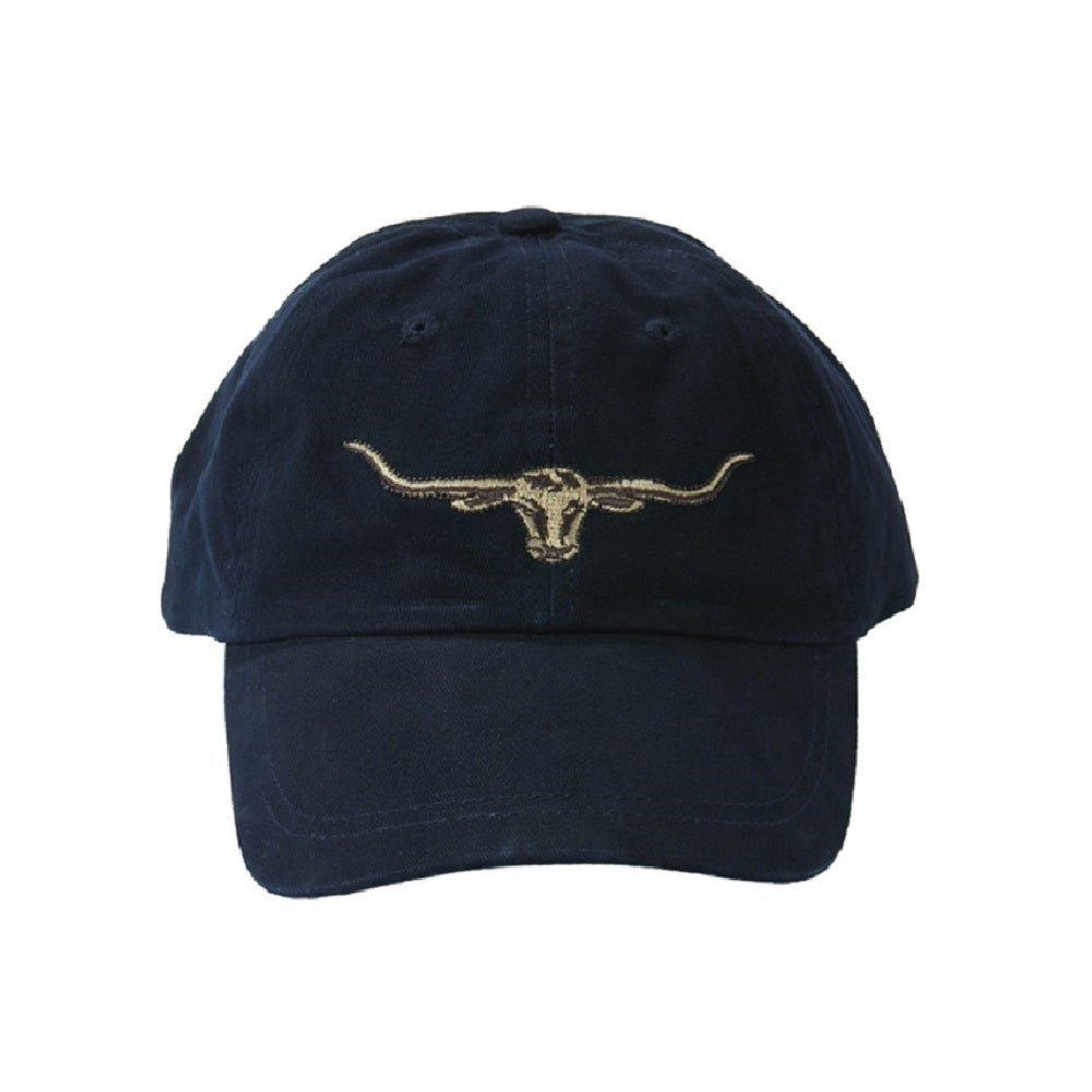 R.M. Williams Longhorn Logo Cap | Navy