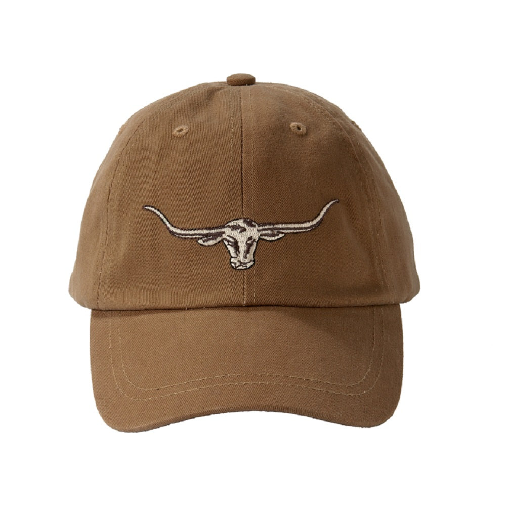 R.M. Williams Longhorn Logo Cap | Camel
