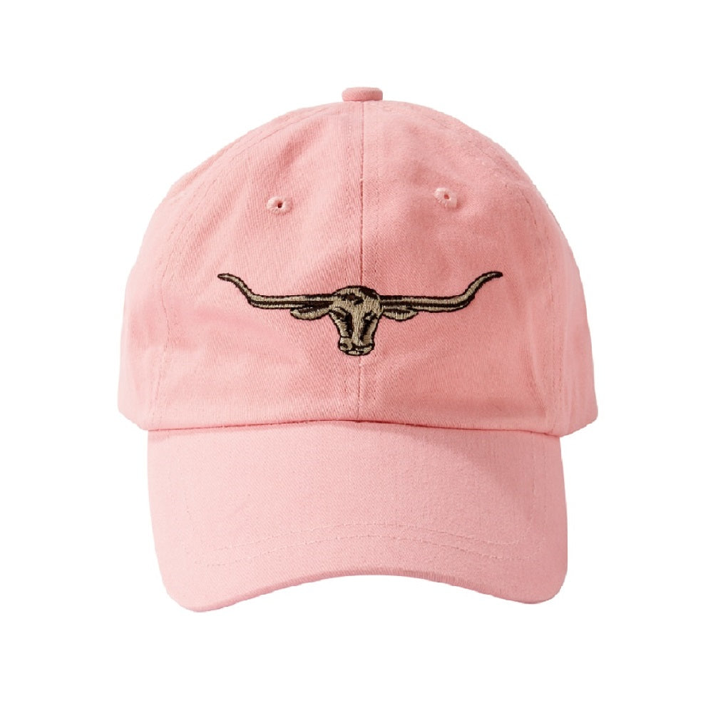 R.M. Williams Longhorn Logo Cap | Pink