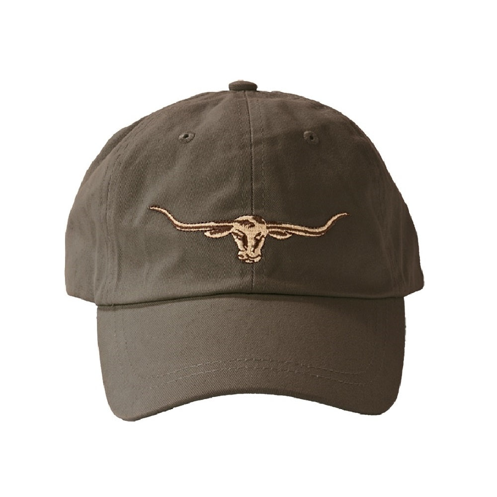 R.M. Williams Longhorn Logo Cap | Silt