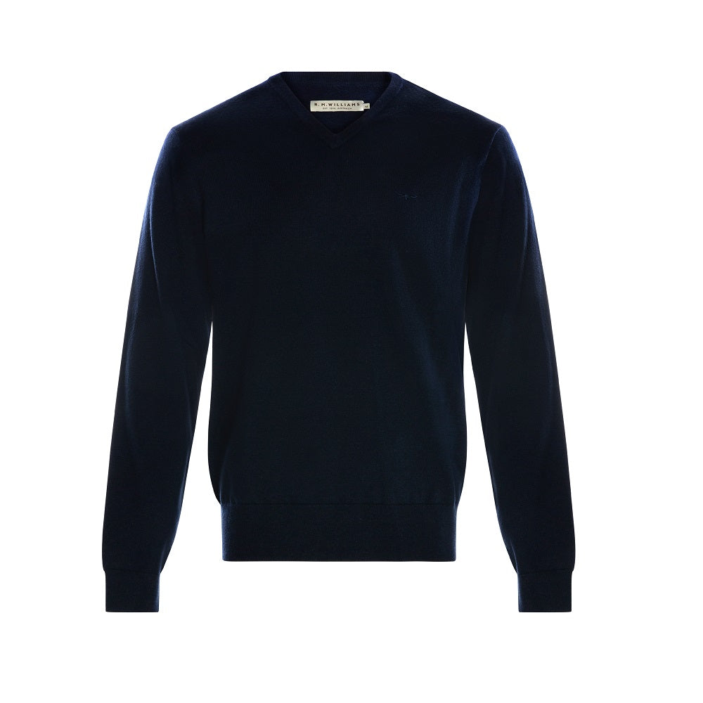 R.M. Williams Harris Sweater | Navy