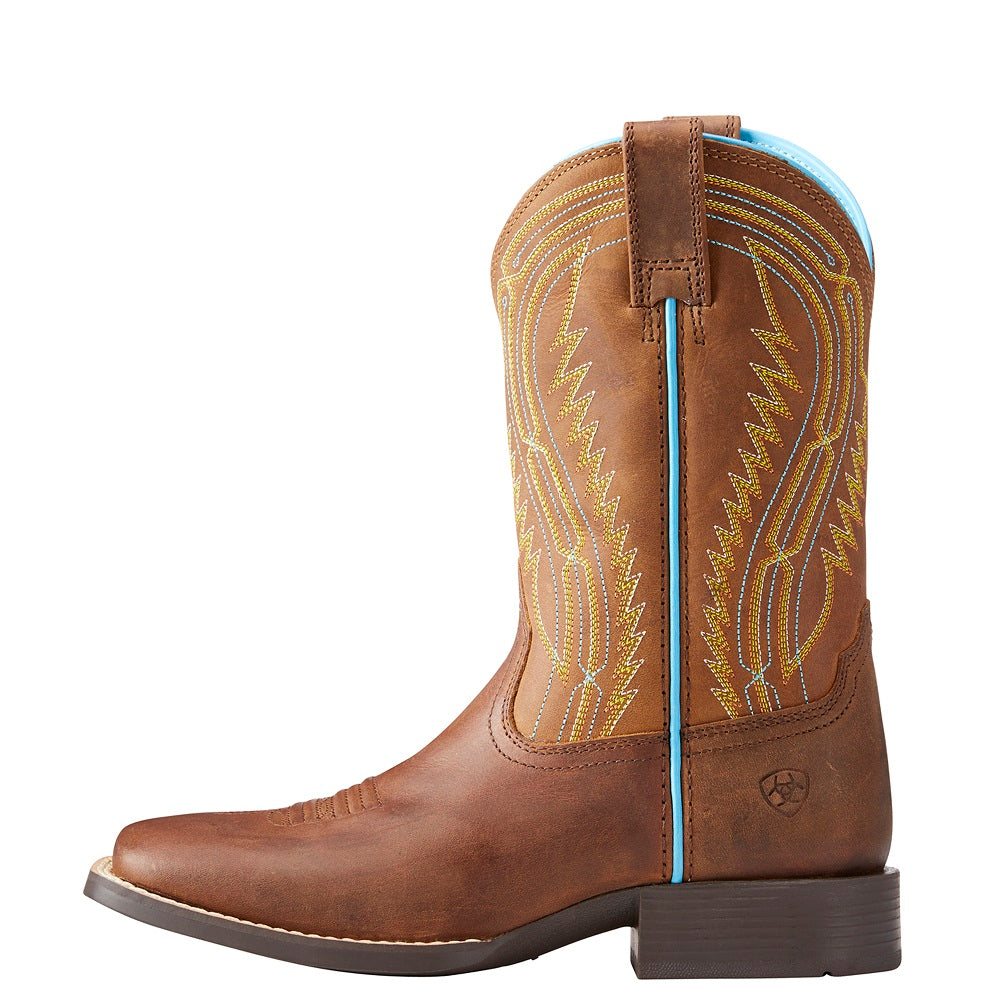 Ariat Childrens Chute Boss | Distressed Brown