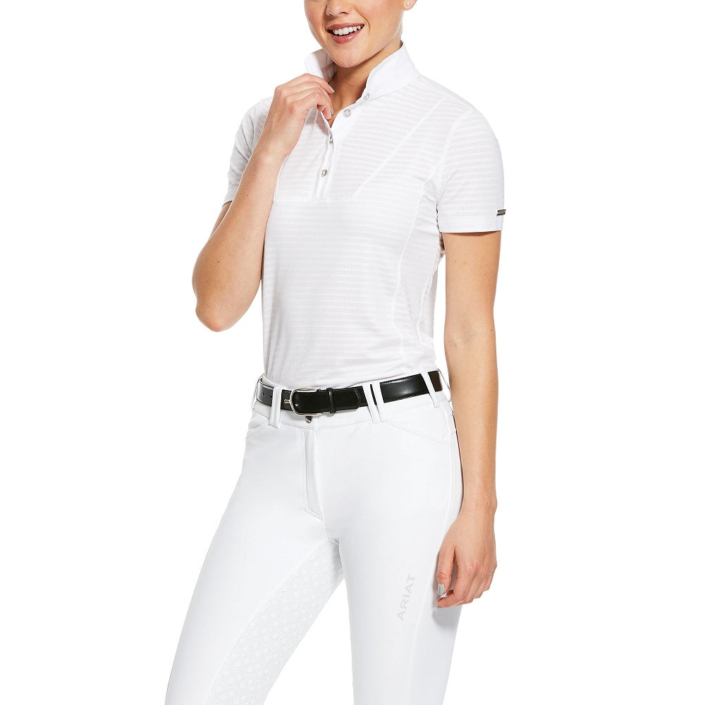 Ariat Womens Lanni Show Shirt | White