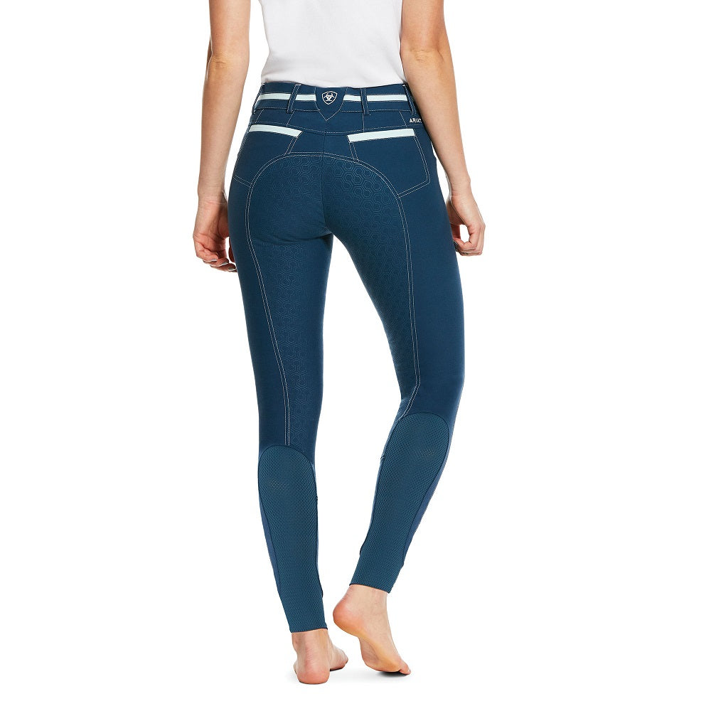 Ariat Womens Heritage Elite Grip Breeches | Petroleum