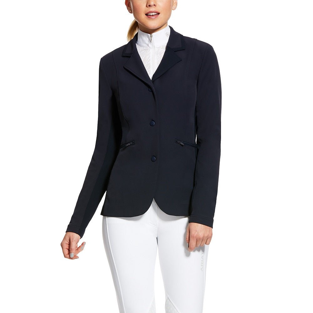 Ariat Womens Galatea Full Zip Showcoat | Navy