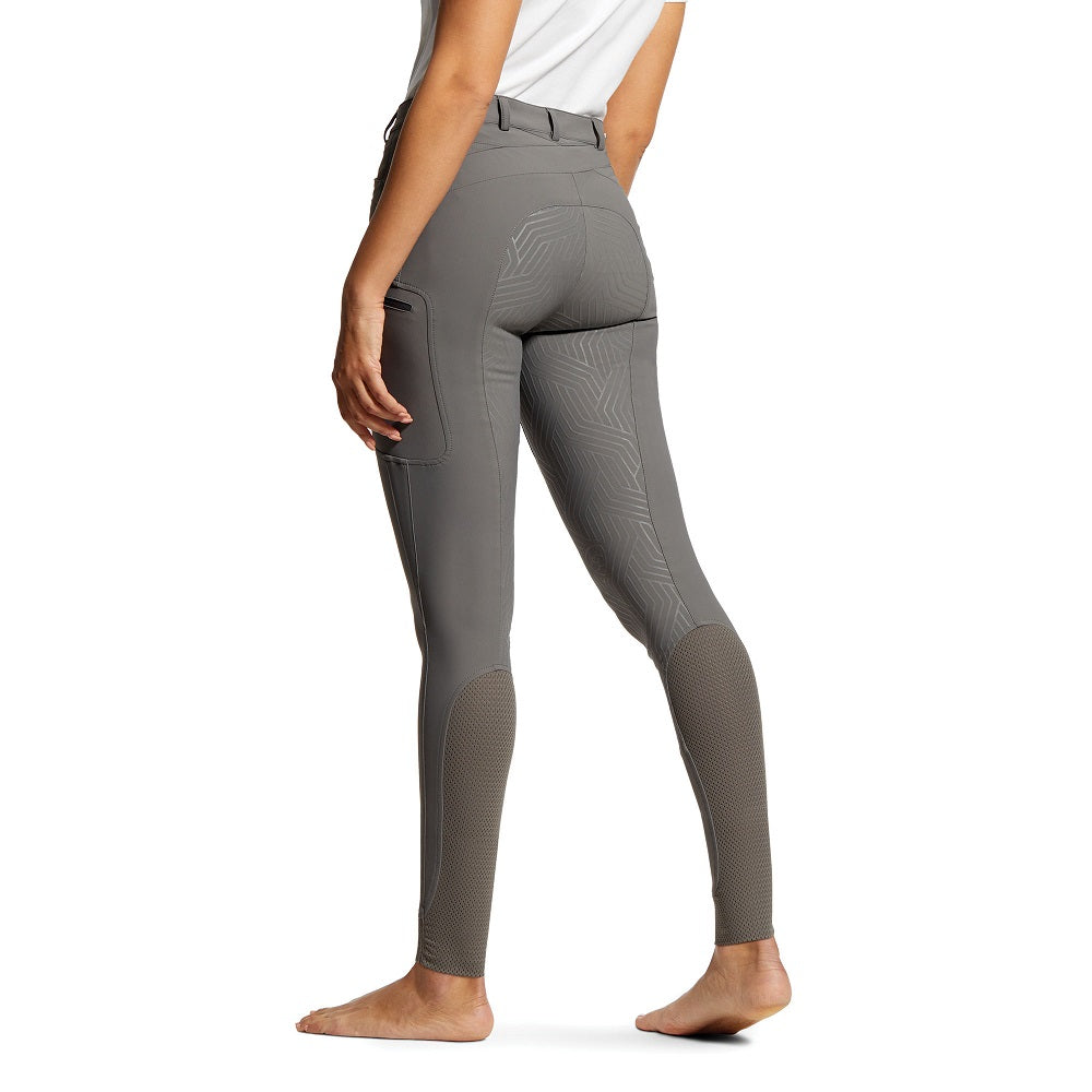 Ariat Womens Triton Grip Breeches | Plum Grey