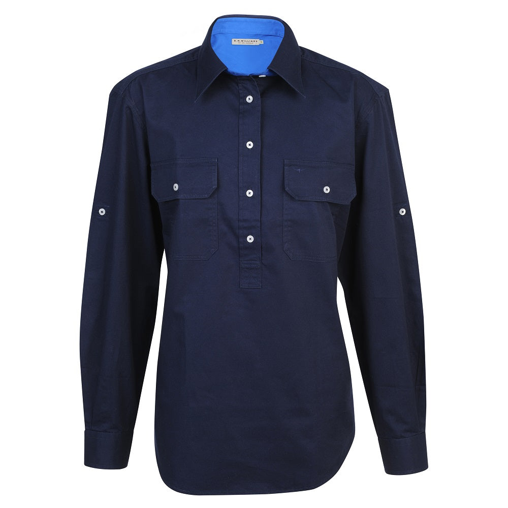 R.M. Williams Broken Hill Shirt | Navy