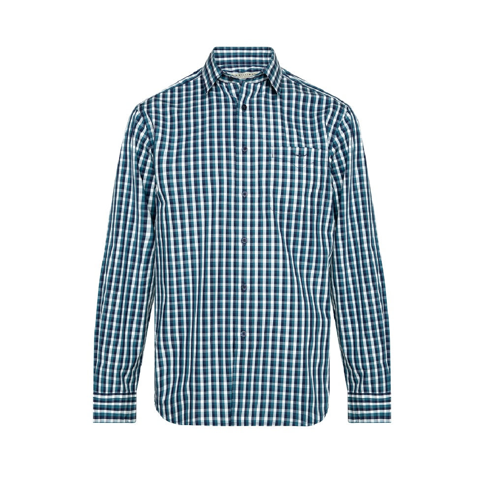 R.M. Williams Collins Shirt | Blue / Navy / White