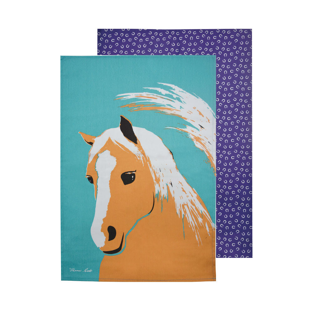 Thomas Cook Tea Towel | Horse | Pack of 2