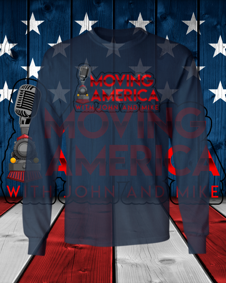 Moving America Podcast Long Sleeve T-Shirt