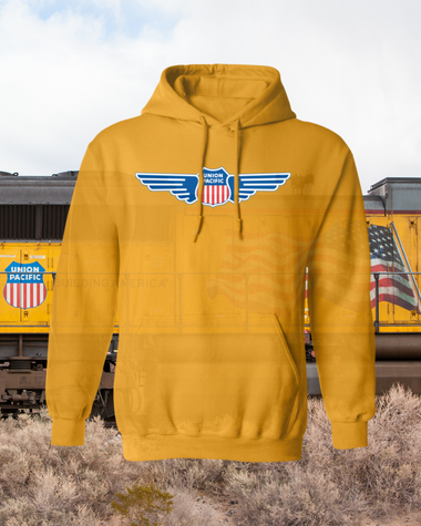 Union Pacific Wing Logo Hoodie
