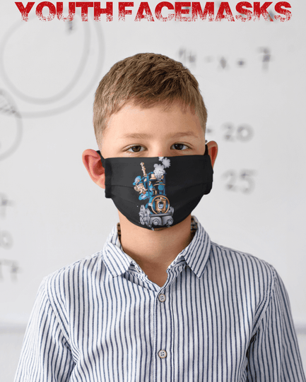 Youth Railroad Facemasks