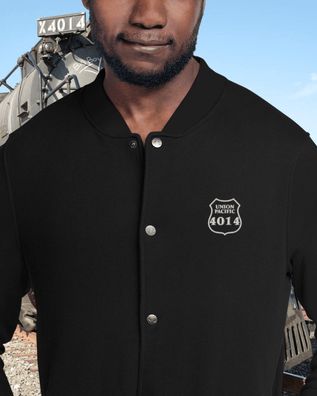 Union Pacific 4014 Embroidered Champion Bomber Jacket