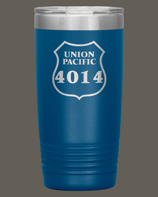 Union Pacific 4014 20oz. Stainless Steel Tumbler