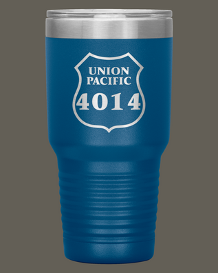 Union Pacific 4014 30oz. Stainless Steel Tumbler