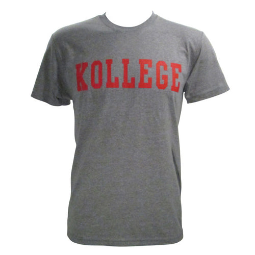 KOLLEGE - KK Klassic T-shirt - Heather Grey