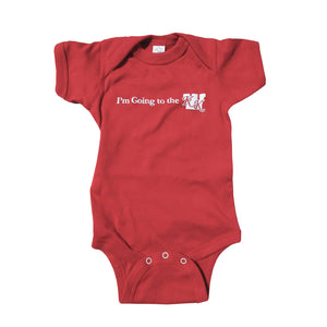 I'm Going to the KK Onesie - Red