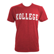 Load image into Gallery viewer, KOLLEGE - KK Klassic T-shirt - Red