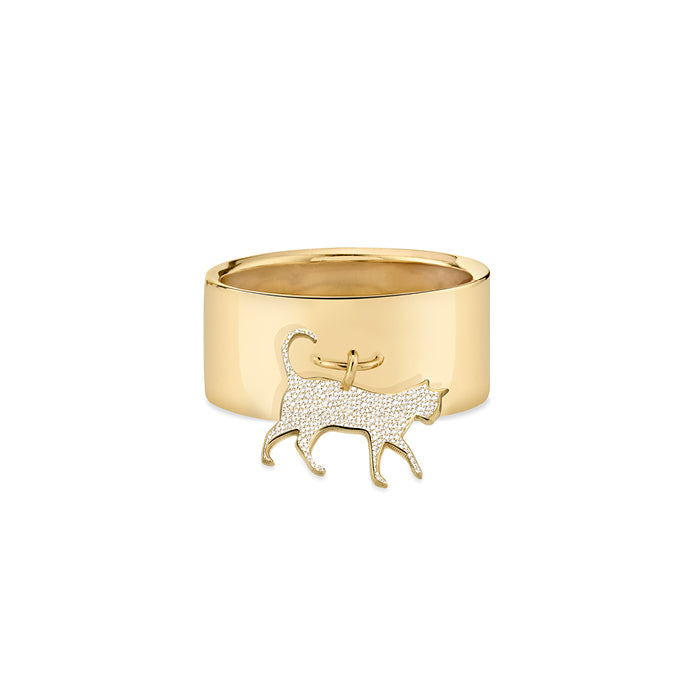 THE BOSS: CAT CHARM RING, PATE
