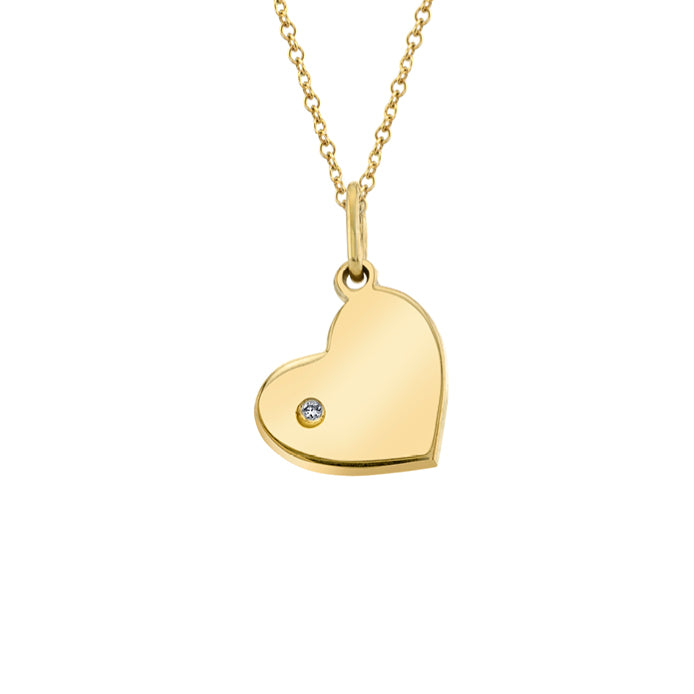 TRUE LOVE: HEART CHARM