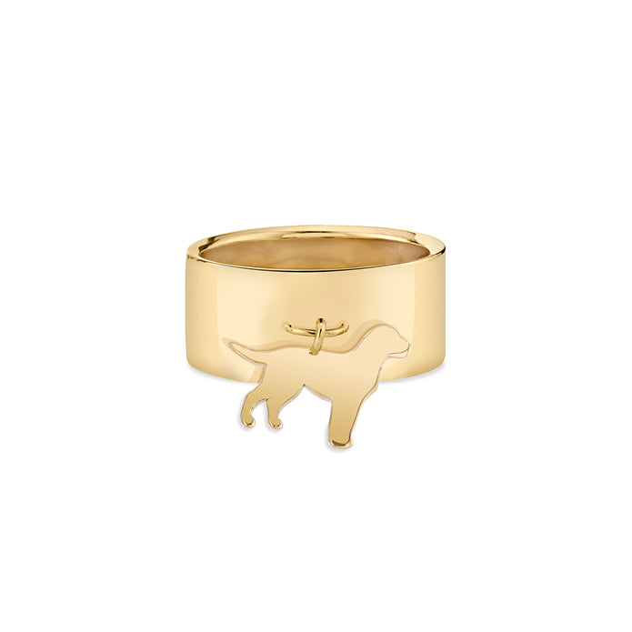 FONZIE: LAB CHARM RING, NO DIAMOND