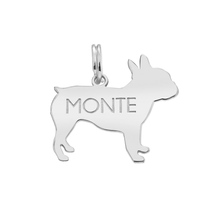 MONTE: FRENCHIE DOG TAG