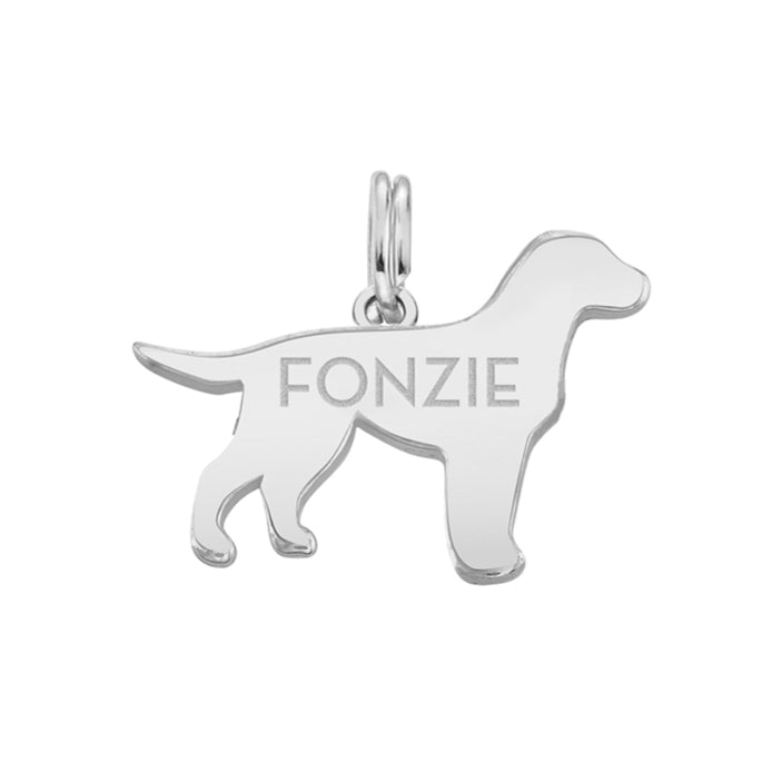 FONZIE: LAB DOG TAG