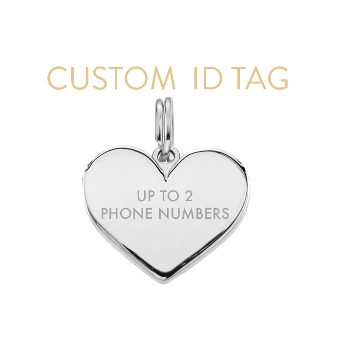 CCFJ DOG TAG - CUSTOM SHAPE