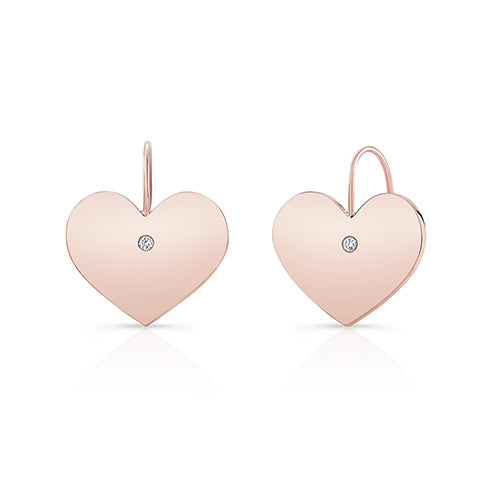 TRUE LOVE: HEART EARRINGS
