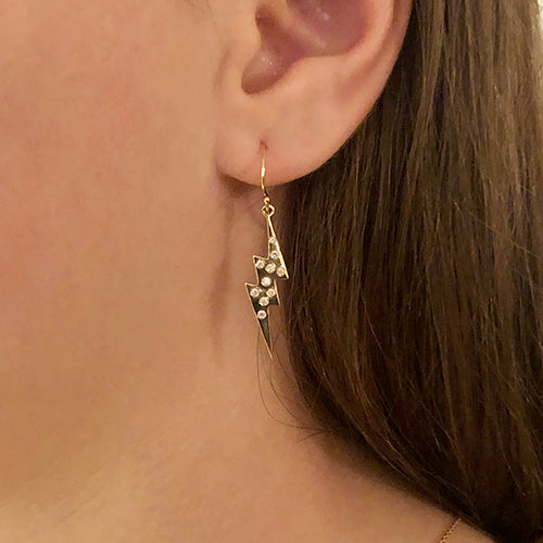 SHAZAM: LIGHTNING BOLT EARRINGS