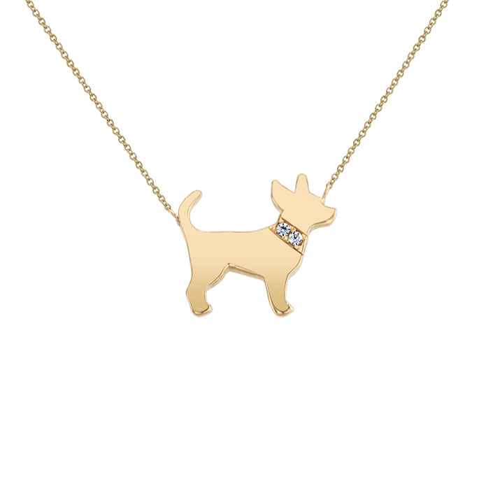 PEPE: CHIHUAHUA MINI NECKLACE